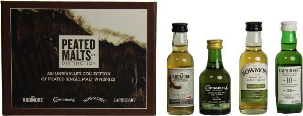 Torfiges Whisky Set: Ardmore, Connemara, Bowmore, Laphroaig 5cl