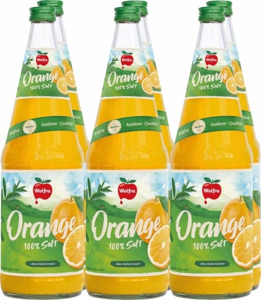 Wolfra Orangensaft 1l 6er Set