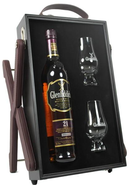Glenfiddich 21 yrs. Gran Reserve incl. 2 Gläser