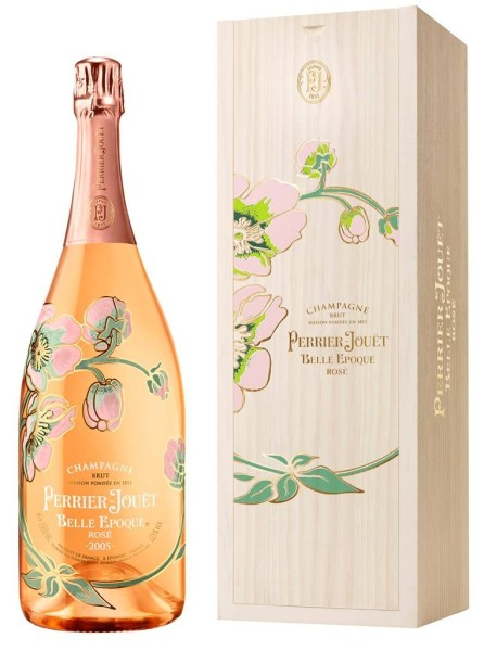Perrier Jouet Champagner Belle Epoque Rose 1,5l in Holzbox