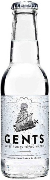 Gents Swiss Roots Tonic Water 0,2l
