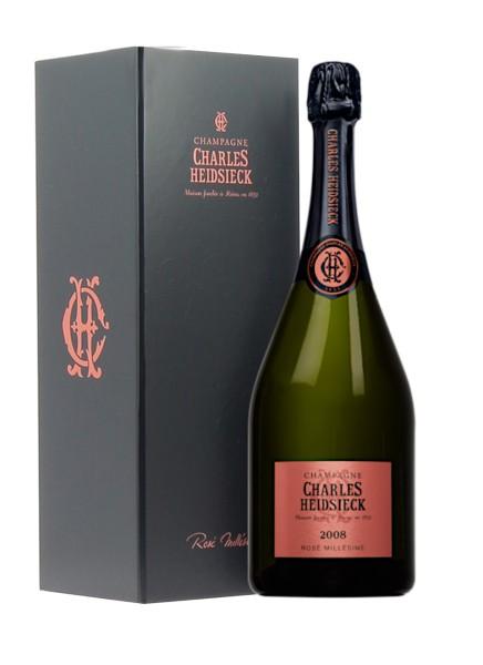 Champagne Charles Heidsieck Rose Vintage 2008 0,75 Liter in Geschenkverpackung