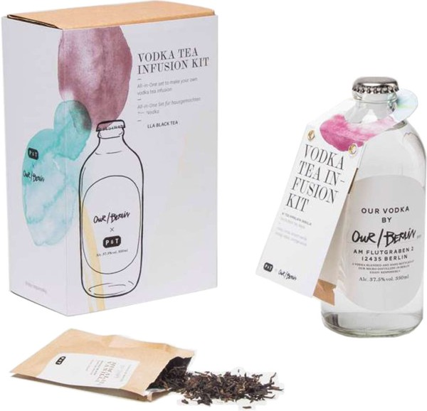 Our Berlin Vodka Himalaya Vanille Tea Infusion 0,35l