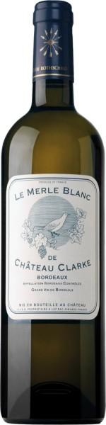 Le Merle Blanc de Chateau Clarke 2017 0,75l