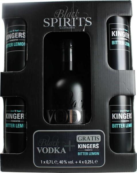 Gansloser Vodka & Kingers Lemon Set