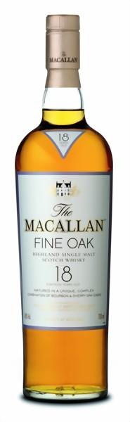 The Macallan 18yrs Fine OAK 0,7 Liter