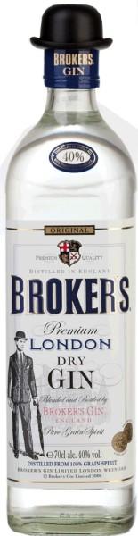Brokers Gin 40% 0,7l