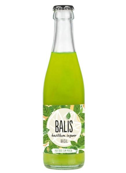 BALIS Basil Basilikum Ingwer Drink 0,25 Liter