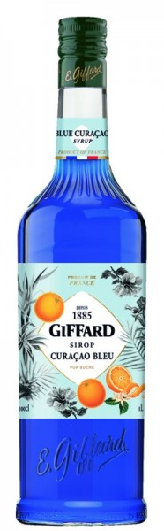Giffard Blue Curacao Sirup 1l