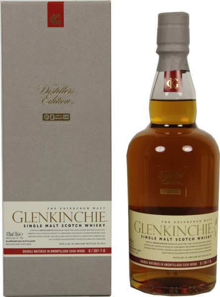 Glenkinchie Whisky Distillers Edition 2000/2014 0,7l