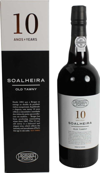 Borges Portwein Soalheira 10 Jahre Tawny 0,75l