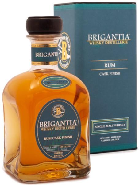 Brigantia Whisky mit Rum Cask Finish 0,7l