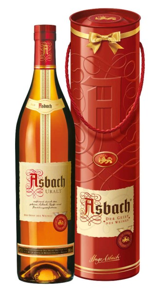 Asbach Uralt 0,7l in Geschenkbox