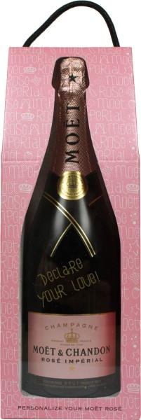 Moet Chandon Rose Imperial Valentine Edition