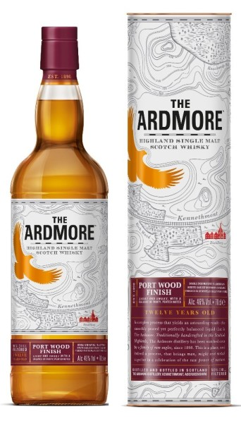 Ardmore Whisky Portwood 12 Jahre 0,7l