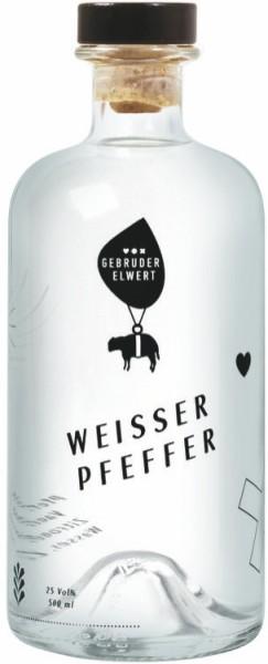 Gebr. Elwert Weisser Pfeffer Likör 0,5 Liter