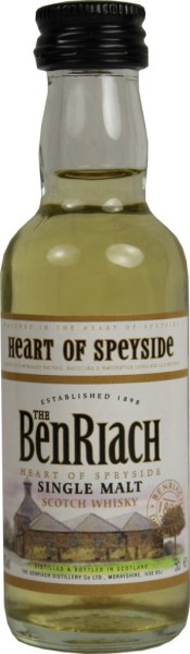 Ben Riach Whisky Heart of Speyside Mini 5cl