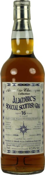 Alambic´s Special Scottish Gin Caribbean Rum Cask 0,7l