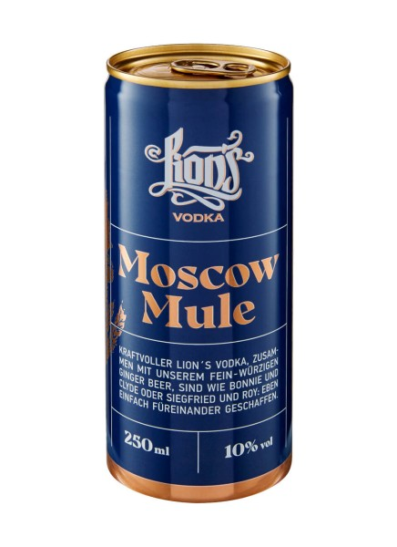Lion's Moscow Mule Bio Dose 0,25 Liter