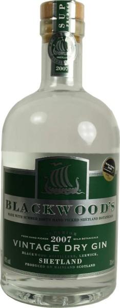 Blackwoods Vintage Dry Gin 2007 0,7l