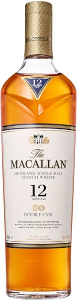 The Macallan Whisky Double Cask 12 Jahre 0,7 Liter