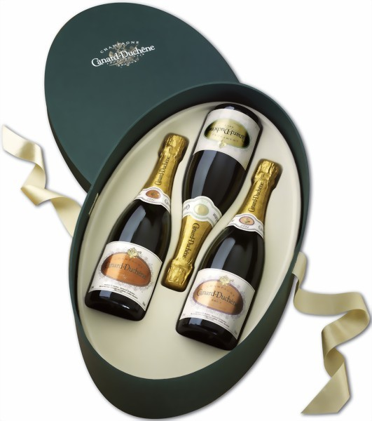 Canard-Duchêne Champagner Vintage Collection The Hat Box