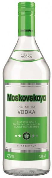 Moskovskaya Russischer Wodka 1 Liter