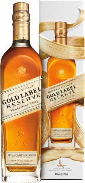 Johnnie Walker Whisky Gold Reserve in Tinbox 0,7l