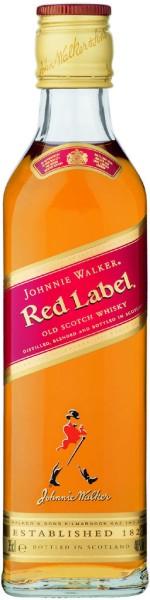 Johnnie Walker Red Label Whiskey 0,35 liter