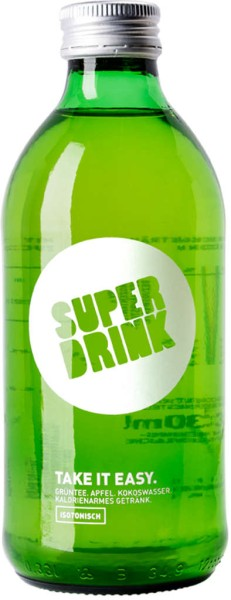SUPERDRINK Take it easy 0,33l