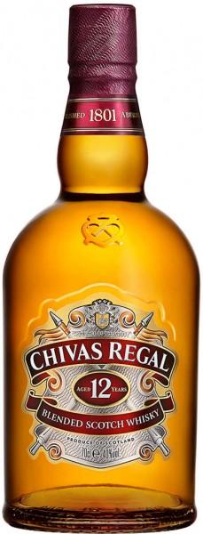 Chivas Regal Scotch Whisky 12 Jahre