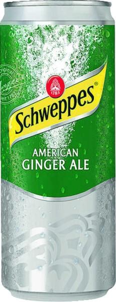 Schweppes Ginger Ale 0,33 l Dose