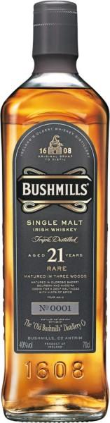 Bushmills Whiskey 21 Jahre 0,7l