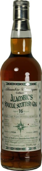 Alambics Special Scottish Gin Bunnahabhain Whisky Cask 0,7l