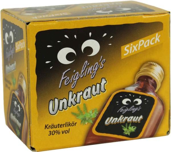 Kleiner Feigling Unkraut Mini 0,02l 6er Pack