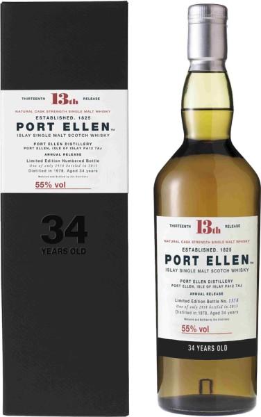Port Ellen 34 yrs. 1978