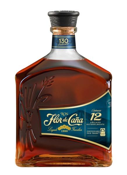 Flor de Cana Centenario 12 Jahre Rum 0,7 Liter
