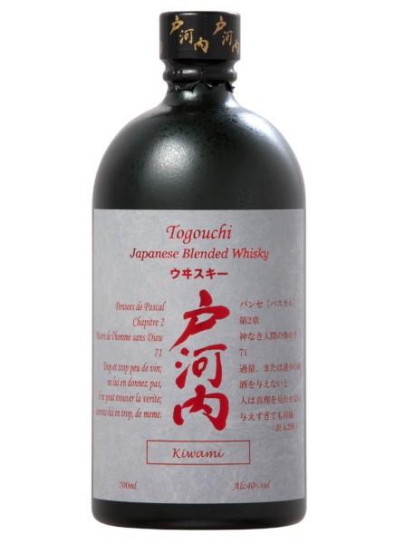Togouchi Kiwami Whisky 0,7 Liter