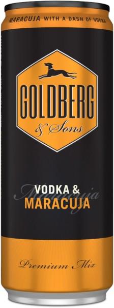 Goldberg & Vodka mit Maracuja Dose 0,33l