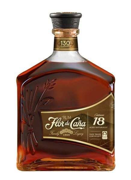 Flor de Cana Centenario 18 Jahre Rum 0,7 Liter