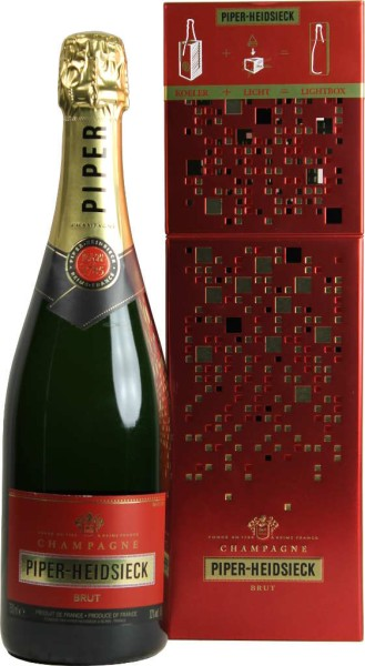 Piper Heidsieck Champagner Cuvee Brut Lightbox 0,75 l