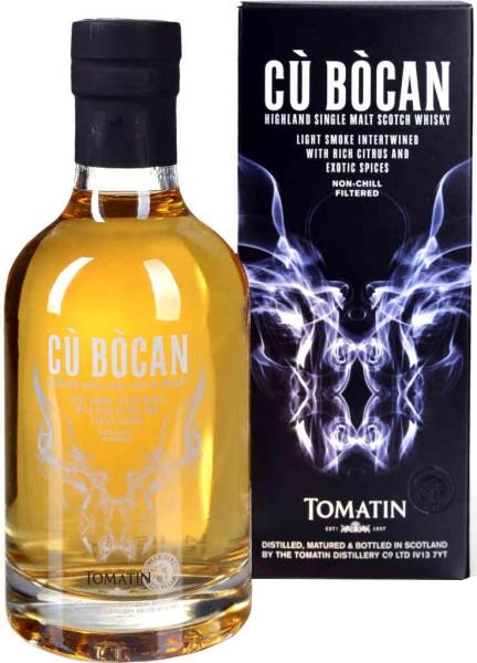 Tomatin Whisky Cu Bocan 0,2l