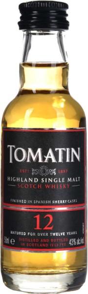 Tomatin Whisky 12 Jahre Mini 5cl
