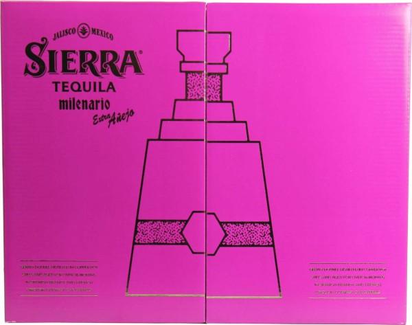 Sierra Milenario Extra Anejo 0,7 l mit 2 Gläsern