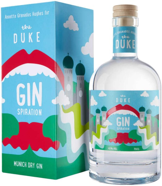 The Duke Gin Kunstedition Magic Munich Ginspiration 0,7 Liter