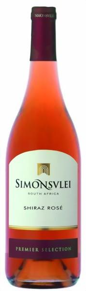 Simonsvlei Shiraz rosé Jahrgang 2011 0,75 Liter