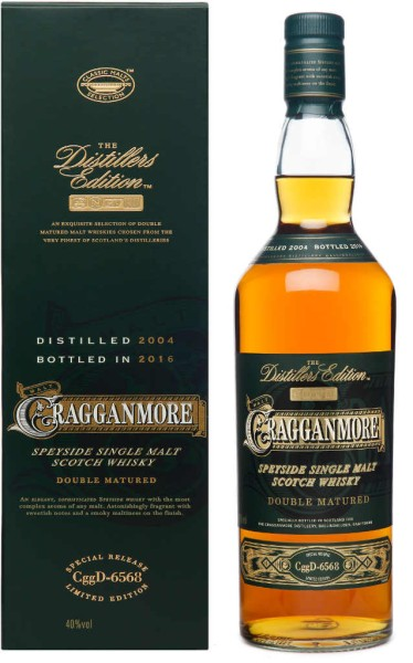 Cragganmore Whisky Distillers Edition 2004/2016 0,7l