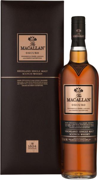 The Macallan Whisky Oscuro 1824