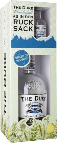The Duke Munich Dry Gin 0,7 Liter + The Duke Wanderlust Gin 0,05 Liter