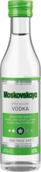 Moskovskaya Russischer Vodka Mini